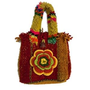 Inka Traditions Peruvian 🇵🇪 Hand Woven Wool Bag